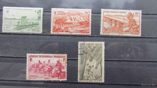 Французская Западная Африка 1947г. Местные мотивы