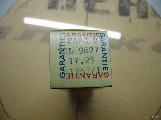 Лампа EABC80   RFT   Двойной диод-триод