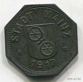 Ng МАЙНЦ - 10 ПФЕННИГОВ 1917