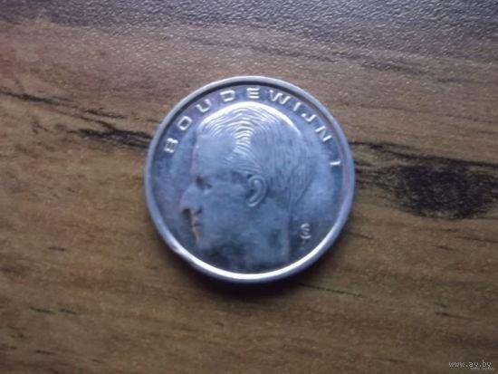 Бельгия 1 франк 1991 (Belgiё)
