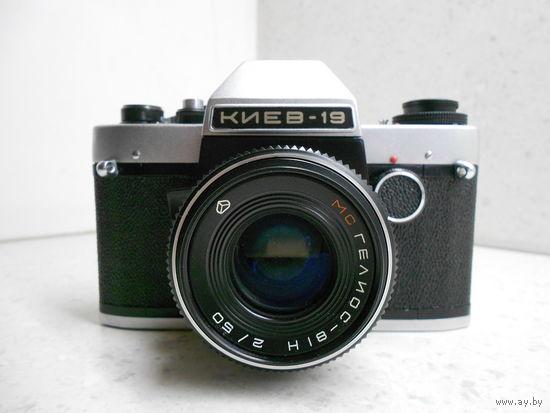 Фотоаппарат Киев-19 с объективом МС Гелиос-81Н 2/50 байонет Никон Nikon