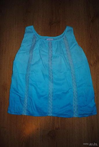 """Блуза женская, летняя,-""""Северное СИЯНИЕ""""-Италия-размер-S/M-(40-42)!"""