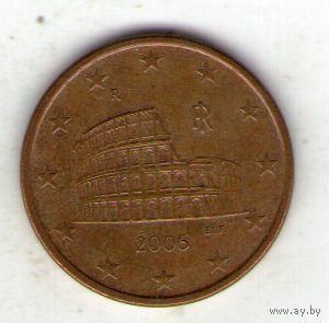 Италия 5 евроцентов 2006 г. распродажа