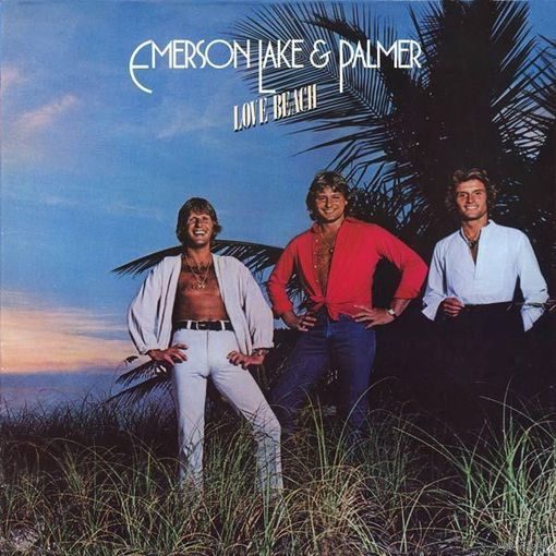 Emerson, Lake & Palmer - Love Beach-1978,Vinyl, LP, Album,Made in Germany.