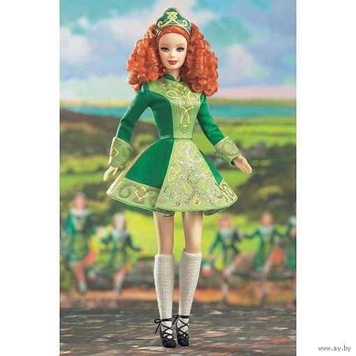 """Коллекционная кукла Барби """"Ирландская Танцовщица"""",фирмы MATTEL."""