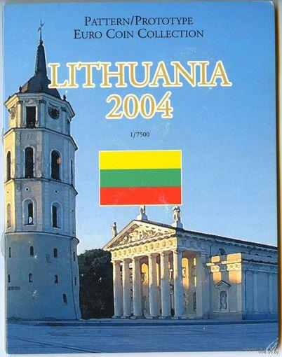Летува (Lithuania), 2004 год - буклет с фантазийными евро