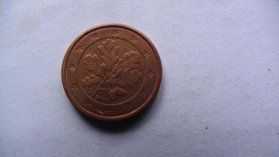 Германия 1 цент 2005г. J   распродажа