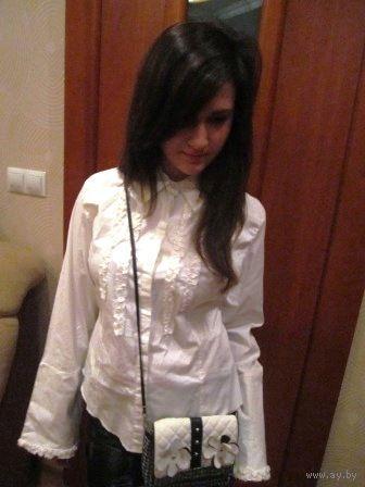 Блуза белая р. 44-46
