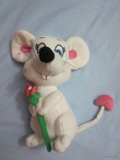 Породистая мышь, музыкальная, 24 см