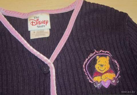 Фирменная красивая кофточка Disney на 5-6 лет