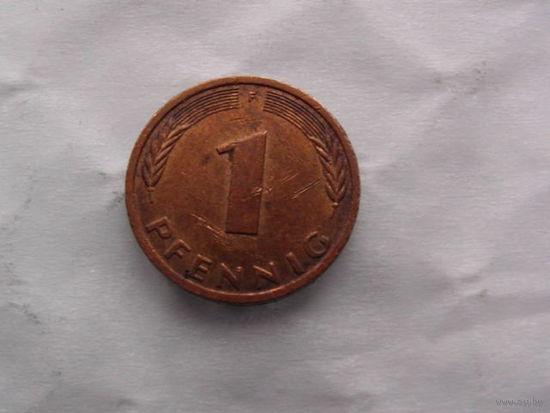 Германия 1 пфенинг 1983г.   распродажа