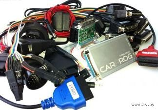 CarProg 11.35 Full + 8.21 online программатор (доработанный флешер и адаптер A1)