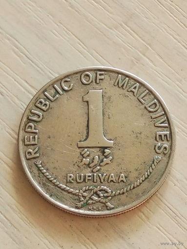 Мальдивские о-ва 1 руфия 1996г.