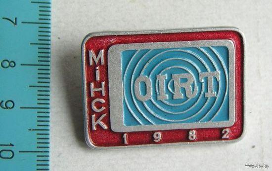 Значок OIRT МИНСК 1982