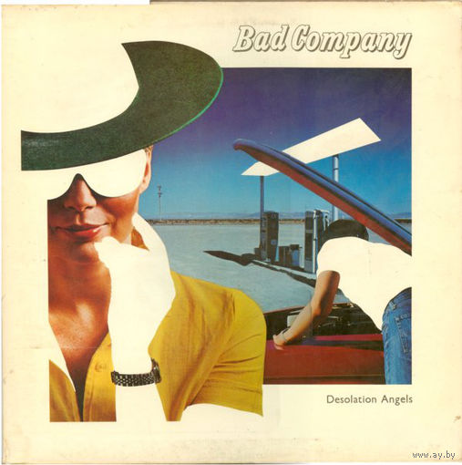 Bad Company - Desolation Angels  - LP - 1979