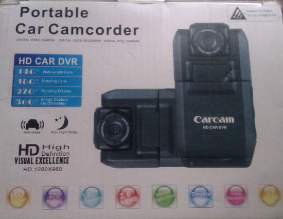 Автомобильный видеорегистратор Carcam CDV-100