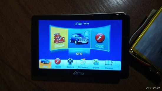 GPS навигатор Ritmix RGP-575 на запчасти