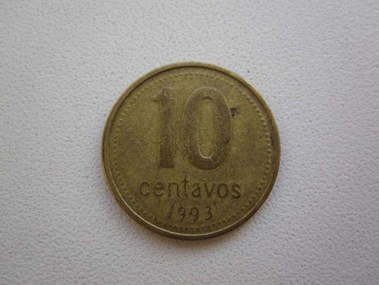 10 Центавос 1993 (Аргентина)