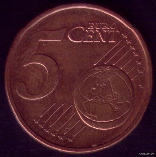 5 евроцентов 2002 год Германия J