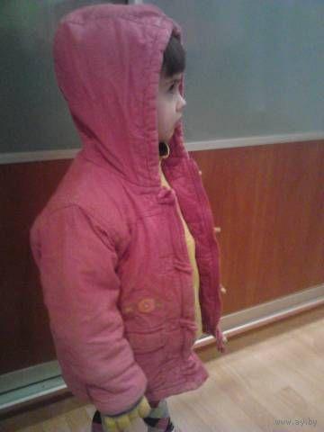 Куртка теплая из Бельгии до 3 лет