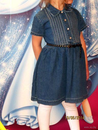 Платье джинсовое фирменное GaP