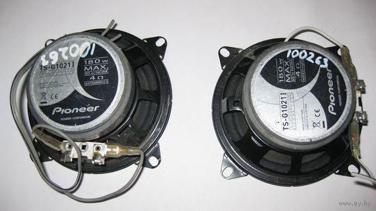 100263 Динамики пара Pioneer TS-G1021I  30w