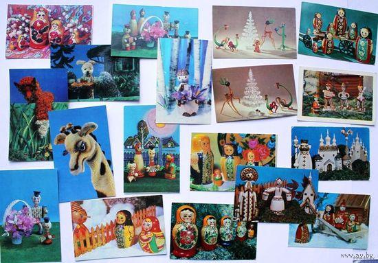 "Календарики ""Игрушки"", 1978-1981"