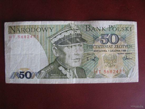 50 злотых 1988, Польша