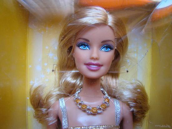 Новая кукла Барби/Barbie Birthstone, November, Citrine