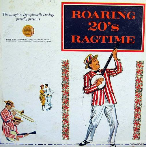 0507. Roaring 20's Ragtime. Longines Symphonette Society (US) = 18$