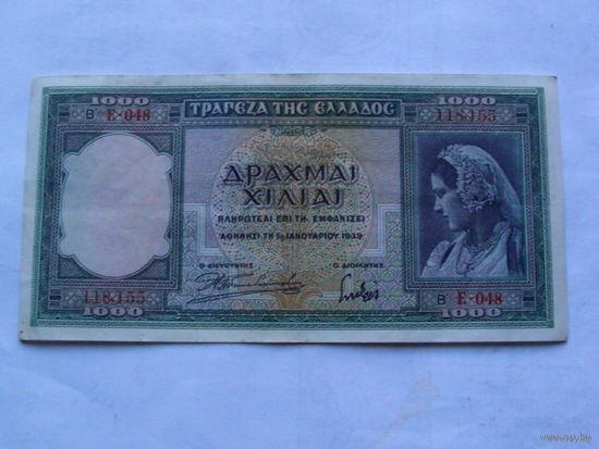 Греция 1000 драхма 1939г.   118,155  распродажа