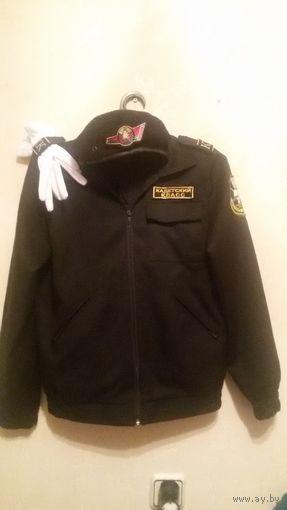 Школьная форма. Кадетская форма. Для кадетского класса. Брюки, пиджак, нашивки, шевроны, перчатки, без берета. (в Минске) Торг уместен.