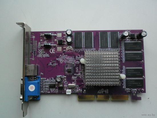 Видеокарта AGP MX440 8x 128Mb