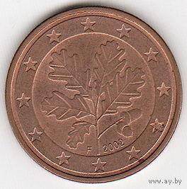 Германия 2 центa 2002г F   распродажа