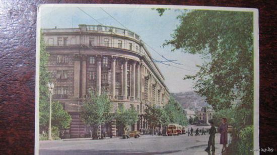 Площадь Ленина  Тбилиси  1959г