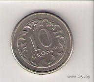 Польша, 10 groszy, 1992г