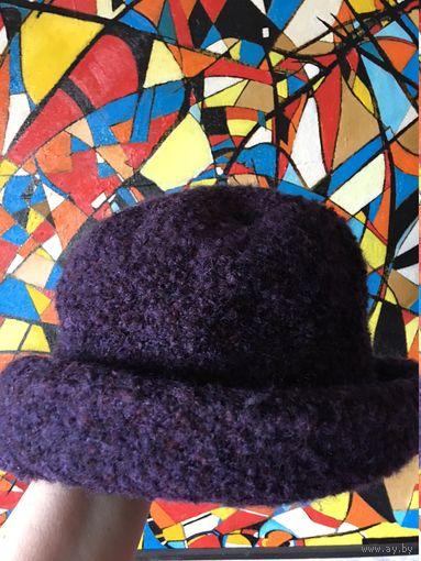 Шляпа шапка шерсть КАК НОВАЯ Ирландия 56