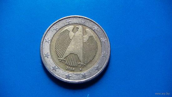 Германия 2 евро 2004г A   распродажа