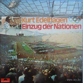 2LP Box Kurt Edelhagen Einzug der Nationen Olympia 1972 Munchen (Marches)