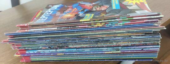 38 комиксов MARVEL и DC. Человек-паук, Люди Икс, Фантастическая четвёрка, Бэтмен, Супермен