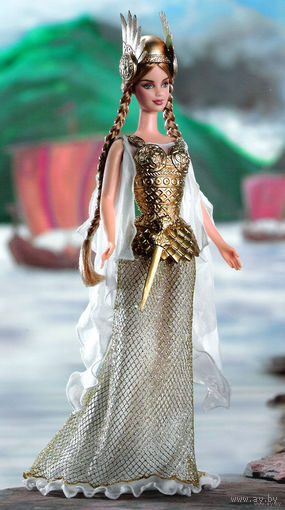 Кукла Барби/Barbie Princess of Vikings фирмы Mattel, серия Dolls of the World the Princess Collection, 2003 г., коллекционный выпуск.