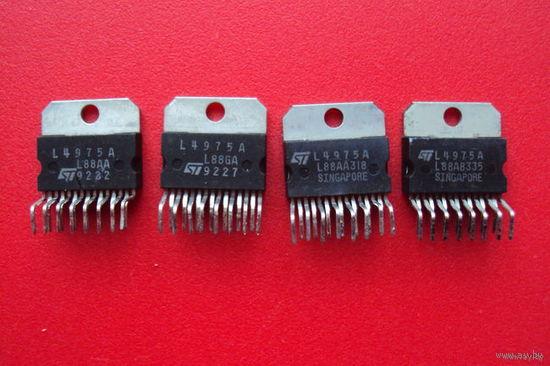 М/сх L4975A  импульсный (стабилизатор) преобразователь DC/DC напряжения 5,1-40V; 5A
