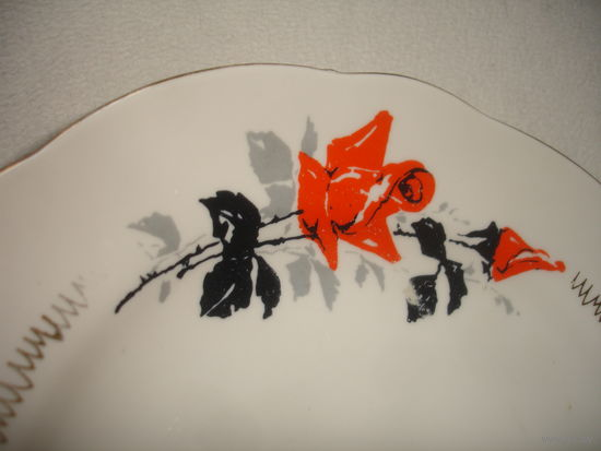 Тарелка для 2-го блюда старая Рига