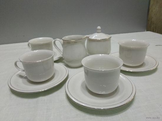 Цептер!!!Набор чайно-кофейный на четыре персоны