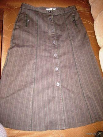 Стильная юбка под джинс р.44-46