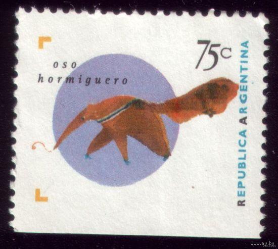 1 марка 1995 год Аргентина Фауна