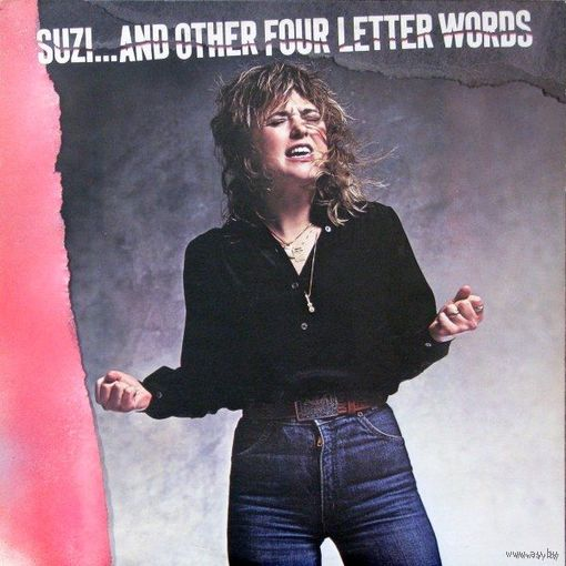 Suzi Quatro - Suzi... And Other Four Letter Words-1979,Vinyl, LP, Album,made in Canada.