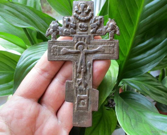 Крест распятие с ХЕРУВИМАМИ