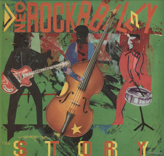 Various  -  Neo Rockabilly Story - LP