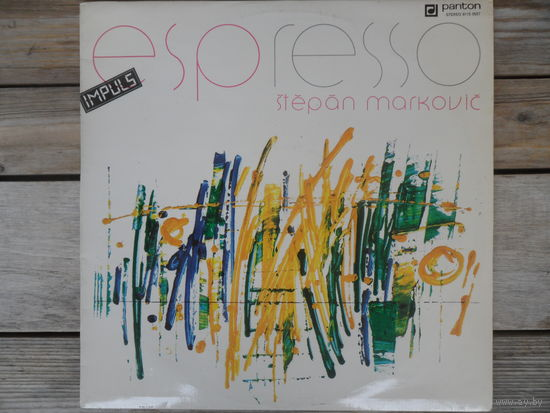 Stepan Markovic - ESPresso - Panton, Чехословакия - 1985 г.